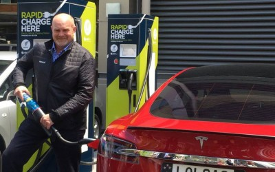 Rapid charging in Auckland