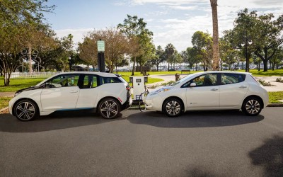 BMW and Nissan partner up to offer new DC Fast Chargers around the US
