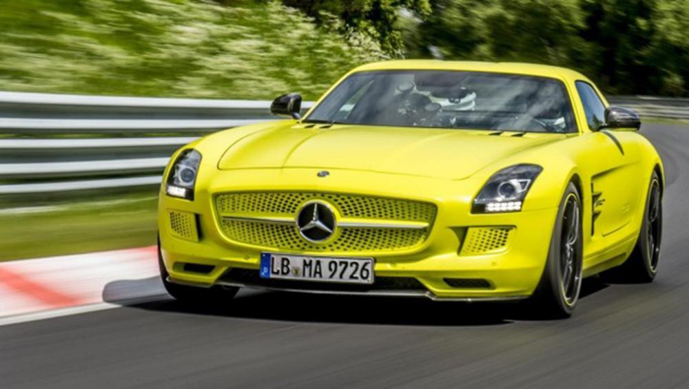 Mercedes Benz Preparing Tesla Rivals