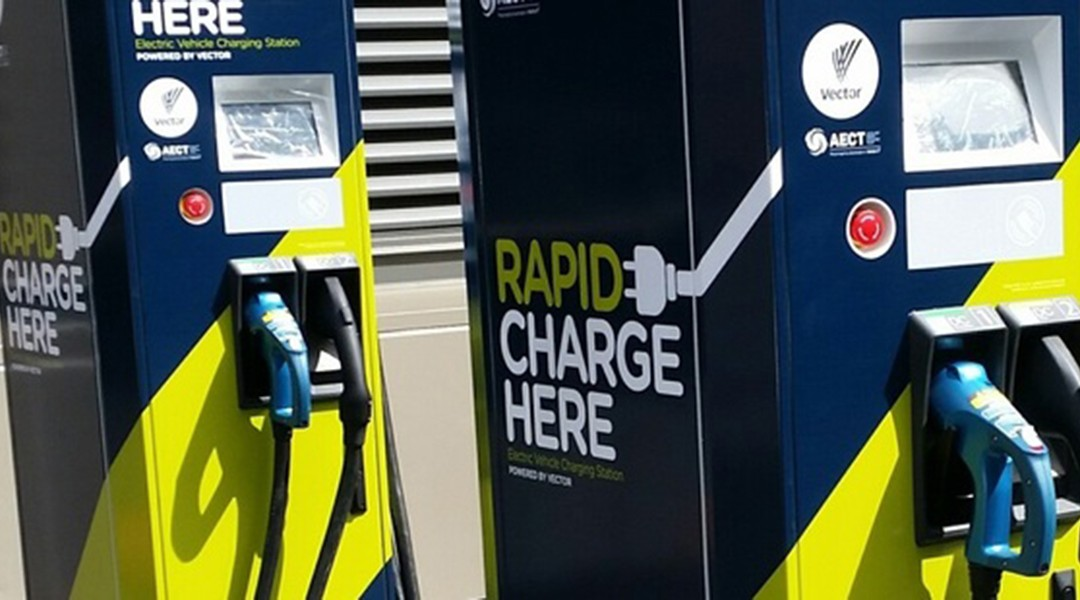 Vector Rapid Charger Rapid Change For Electric Cars