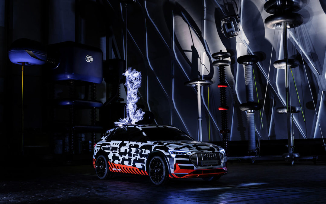 Ultra-high voltage: The Audi e-tron prototype