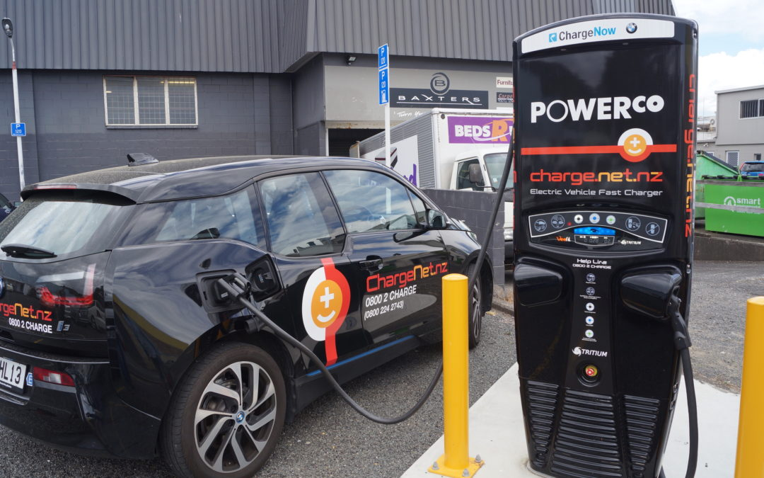 NZ keeping pace with electric vehicle charging technology