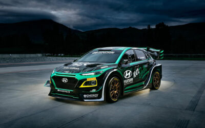 [MEDIA RELEASE] PRG and Hayden Paddon reveals spectacular Hyundai EV rally car